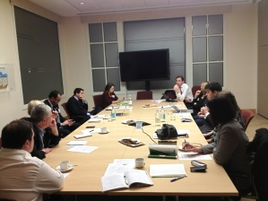 CXPA's UK Board of Ambassadors in Planning Session