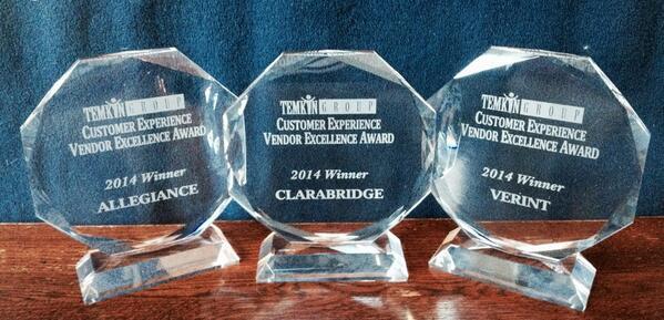 2014CxVE Award Trophies